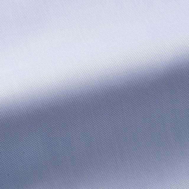 [国内縫製]トーマスメイソンジャーニー(Thomas Mason JOURNEY)で作る オーダーメイド シャツ/ブルーピンオックス ビジネス ドレスシャツ 婚活 モテシャツ オーダーシャツ 紳士 ギフト 38620 クールビズ 形態安定
