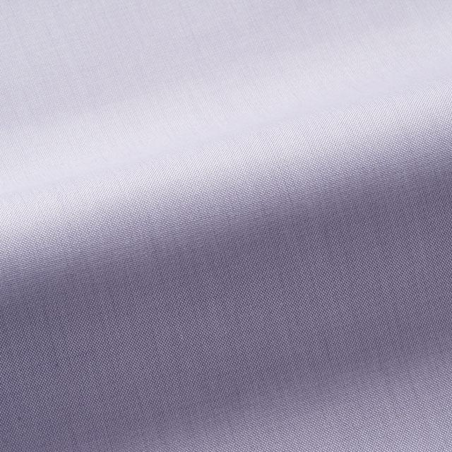 [国内縫製]トーマスメイソンジャーニー(Thomas Mason JOURNEY)で作る オーダーメイド シャツ/パープル オックス ビジネス ドレスシャツ 婚活 モテシャツ オーダーシャツ 紳士 ギフト 38624 クールビズ 形態安定