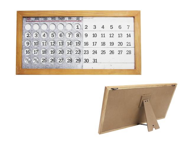 Anniversary World Wooden Perpetual Calendar ウッデンパーペチュアル