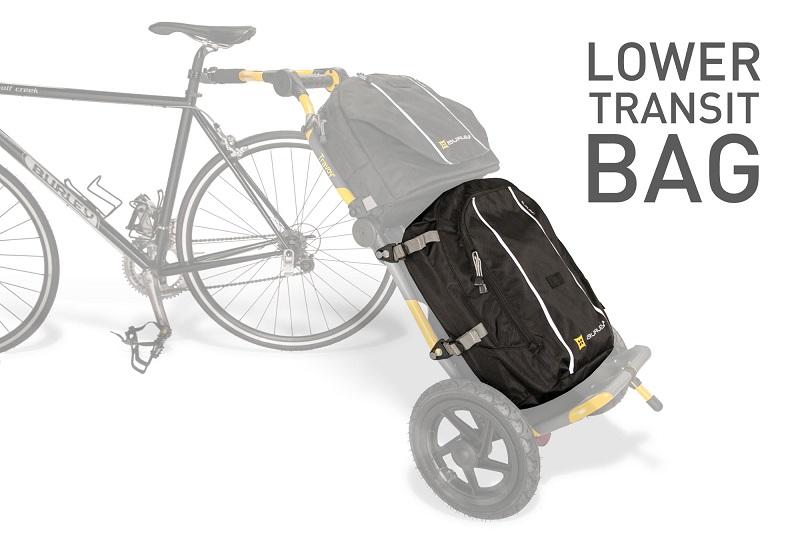 【即納】トラヴォイ・トランジットバッグ(下):Burley Travoy Lower Transit Bag(Black)