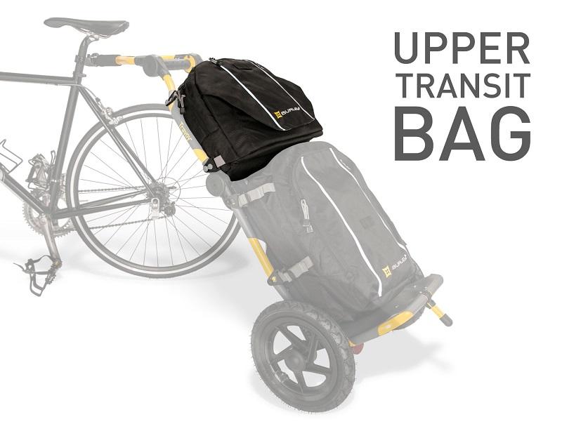 トラヴォイ・トランジットバッグ(上)Burley Travoy Upper Transit Bag(Black)