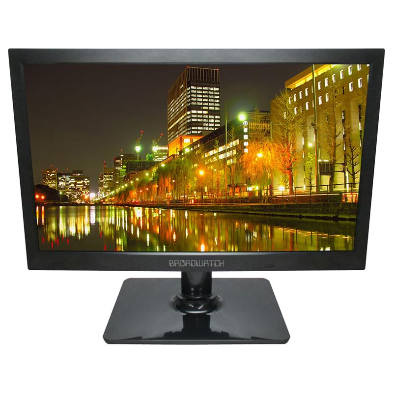 [送料無料] LCDモニター 19インチ 防犯カメラ用 LCD/モニター/防犯カメラ ブロードウォッチ LCD-A019