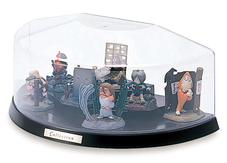 コレクション フィギュアをカッコよくディスプレイ 特価品コーナー☆ 安売り コレクションケース 卓上 フィギュアケース ミニカーケース ディスプレイケース ISETO H101台タイプ 伊勢藤