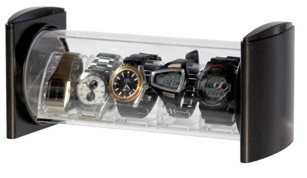 表壳手表ケースコレクションケースシンコハンガーウォッチスタンド手表台灯表堆栈