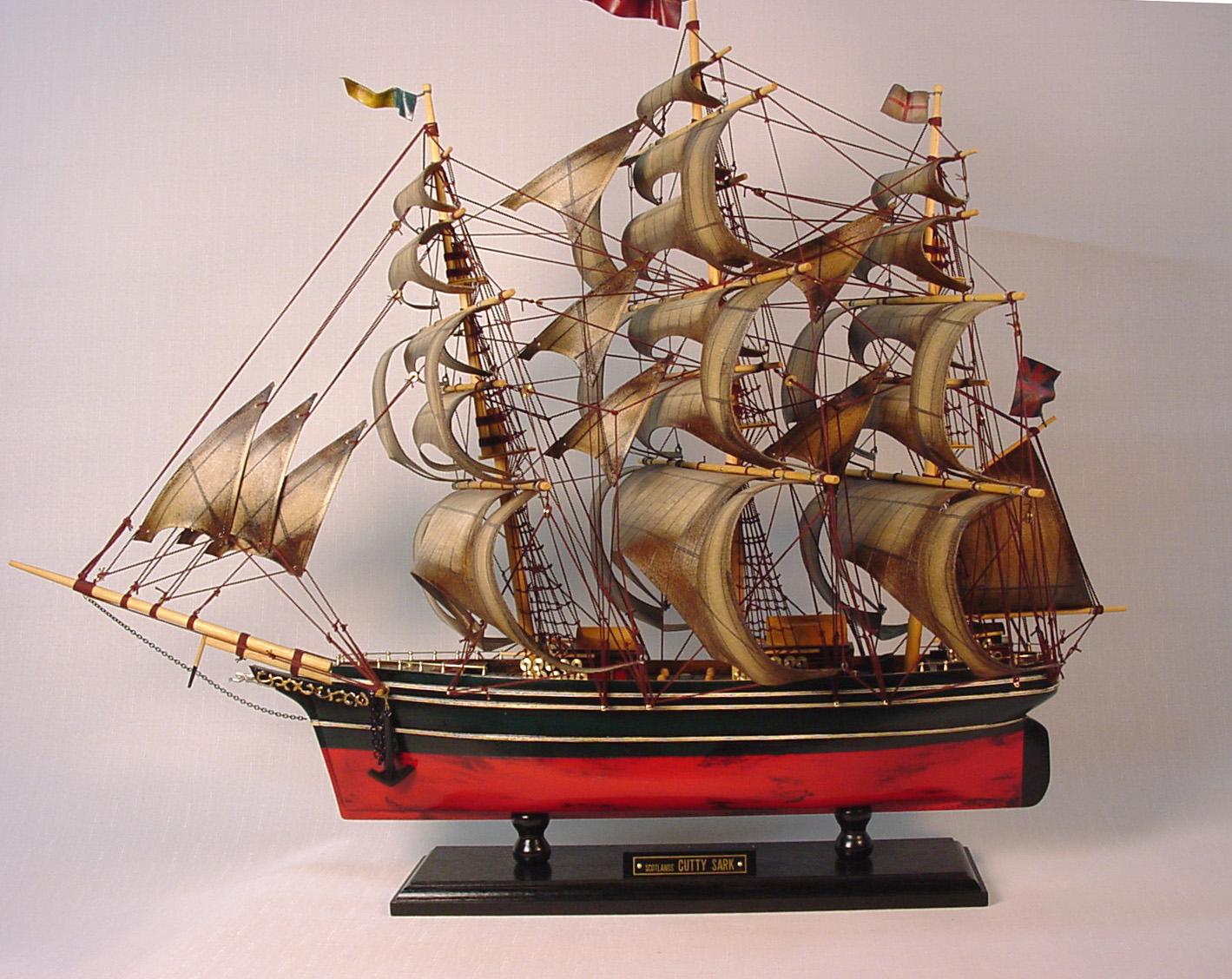 帆船模型 モデルシップ 完成品 No221 カティーサーク 新築祝 開業祝 お祝い 門出【楽ギフ_のし】【楽ギフ_メッセ入力】
