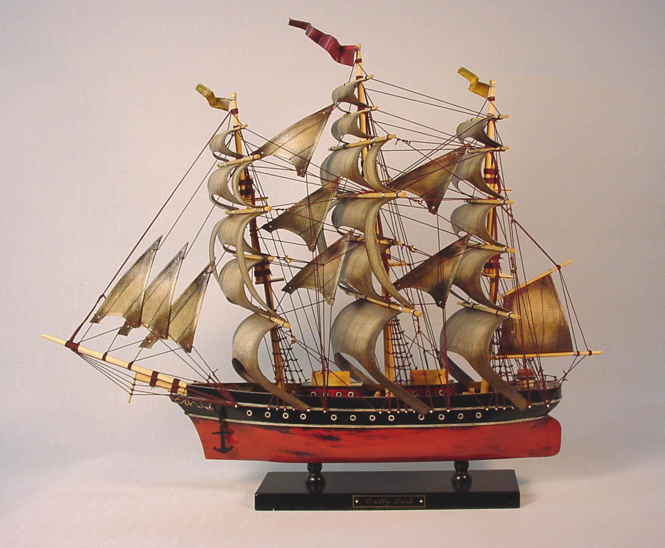 帆船模型 モデルシップ (完成品) No238 カティーサーク(アンティーク) 新築祝 開業祝 お祝い 門出【楽ギフ_のし】【楽ギフ_メッセ入力】