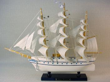 帆船模型 モデルシップ (完成品) HA-232 スタッグハンド(ホワイト)  新築祝 開業祝 お祝い 門出【楽ギフ_のし】【楽ギフ_メッセ入力】