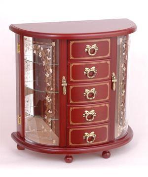 ジュエリーボックス ジュエルボックス 宝石箱オルゴール G-1825B 曲目:オーバーザレインボー【楽ギフ_のし】【楽ギフ_メッセ入力】