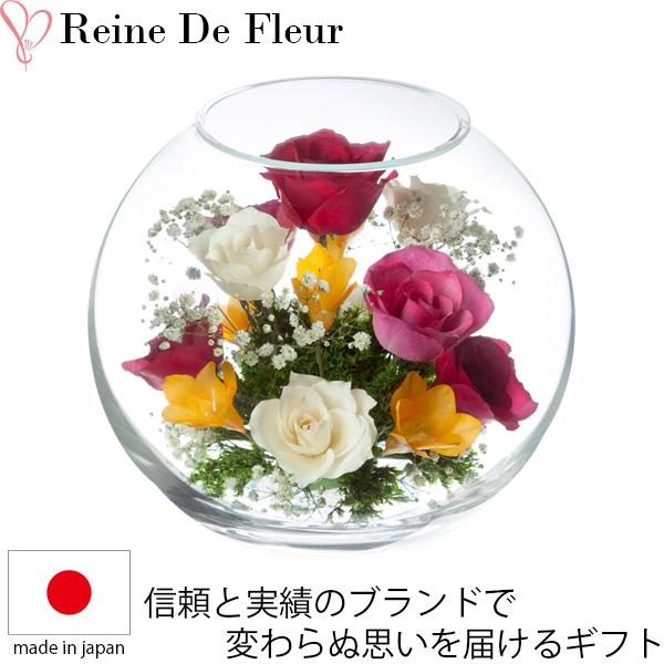 送料無料 ドライフラワー ボトルフラワー レンデフロール A-N 新築祝い 開業祝い 花ギフト 母の日 定年祝い