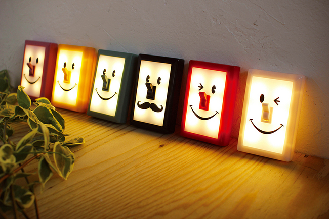 Fairy Land Smile Switch Led Light Lid Light Smileswitch Simple