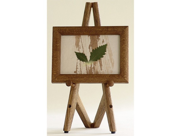 fairyche plus the easel easel small brown wooden goods oak