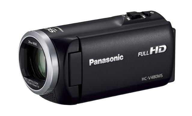Panasonic デジタルハイビジョンビデオカメラ HC-V480MS-K ブラック