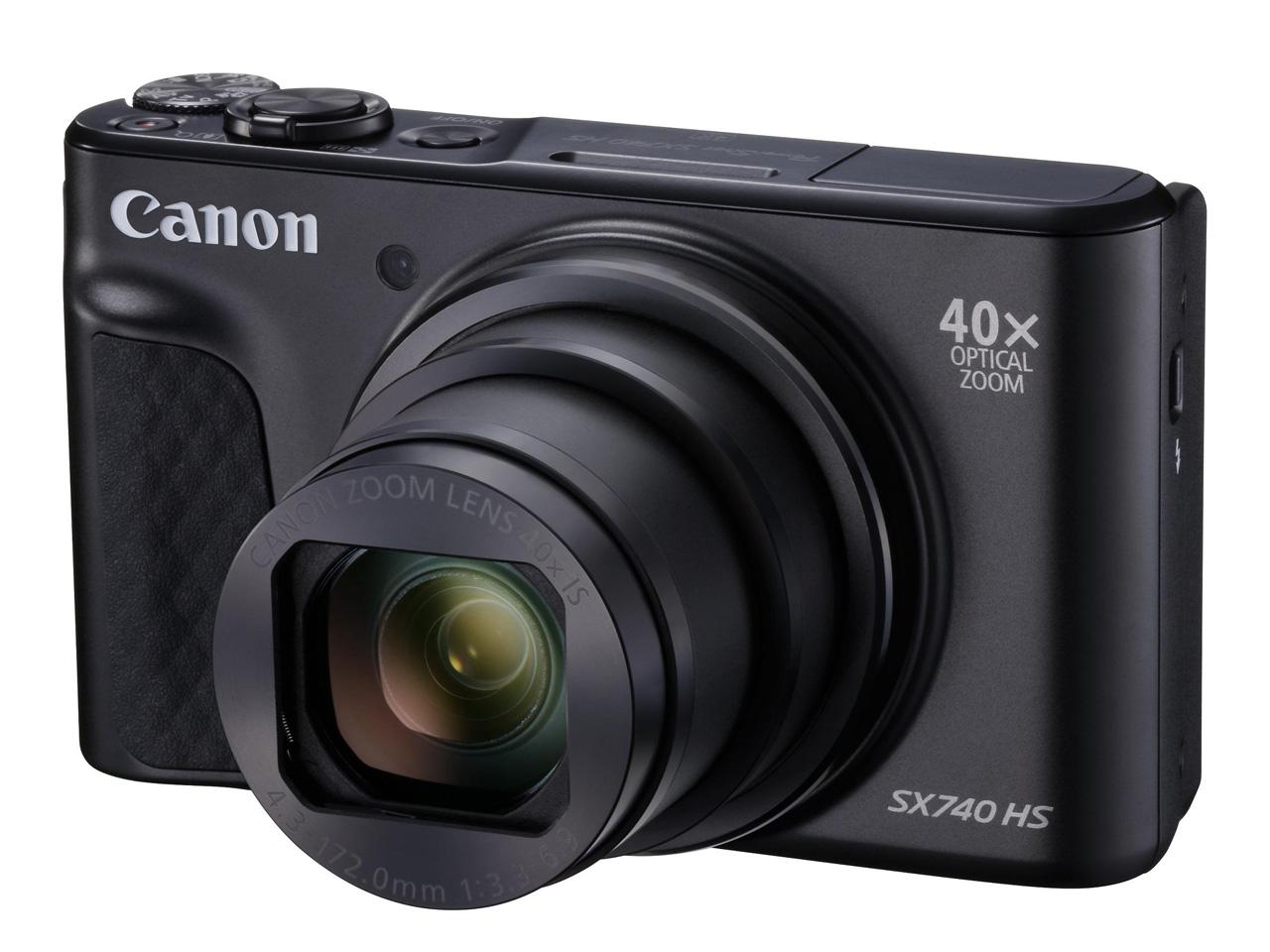 キヤノン PowerShot SX740 HS ブラック