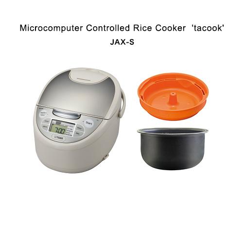 【海外向け】TIGER 炊飯器 JAX-S18W 1.8L( 10cups)220V仕様