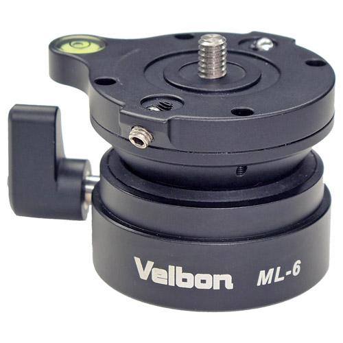 ベルボン 小型 ML-6 お気に入 高性能レベラー 商店