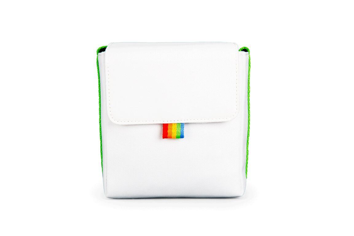 ポラロイド Polaroid Now Bag - ハイクオリティ White Green アイテム勢ぞろい