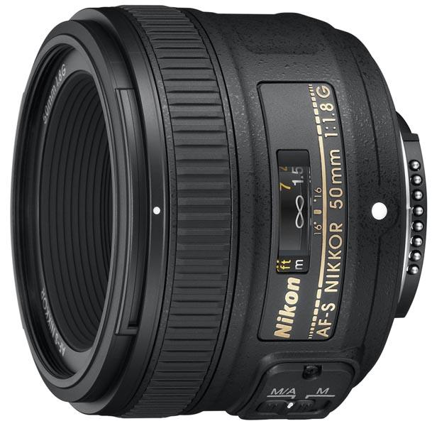 ニコン AF-S NIKKOR 50mm f/1.8G