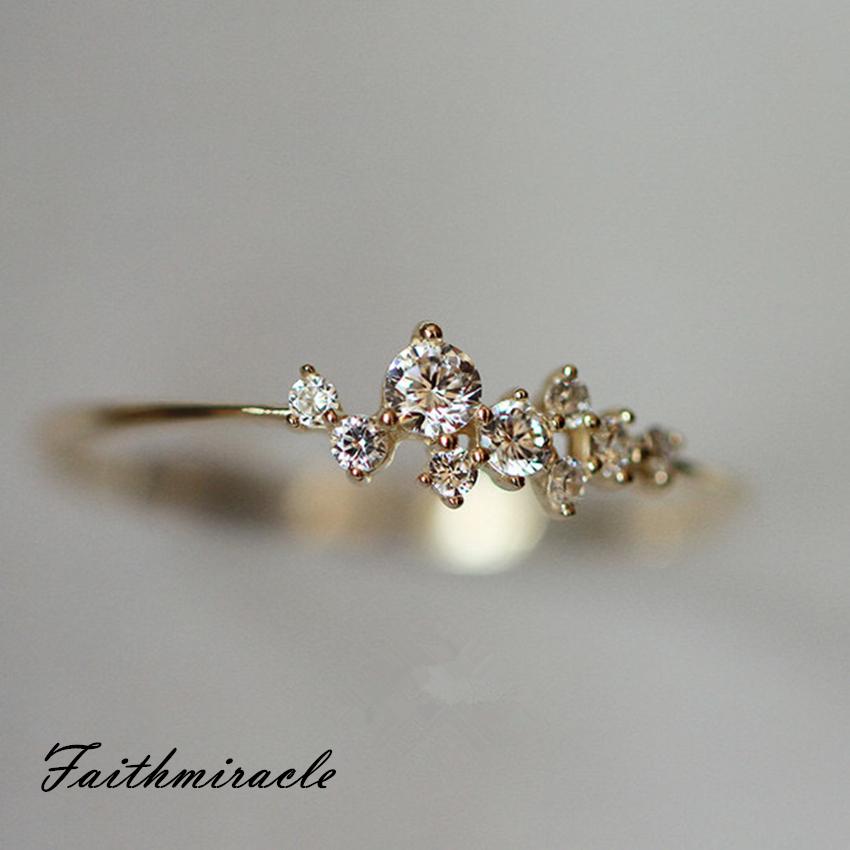 デポー リング 指輪 レディース 女性 スワロフスキー 結婚指輪 金属アレルギー対策 ピンクゴールド K18金RGP 公式ショップ ホワイトゴールド