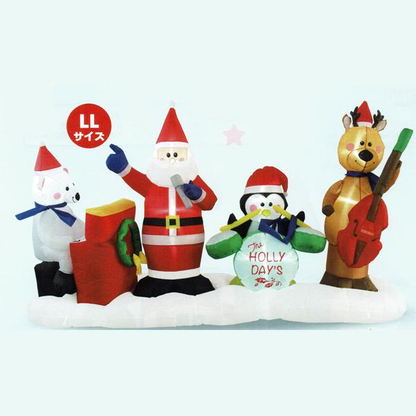 エアーサンタクロースクリスマスバンド