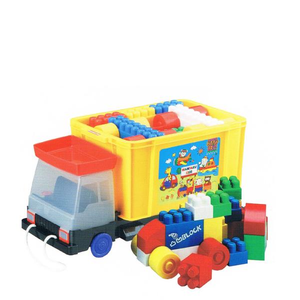 でこぼこブロック おもちゃ箱ダンプ 送料無料