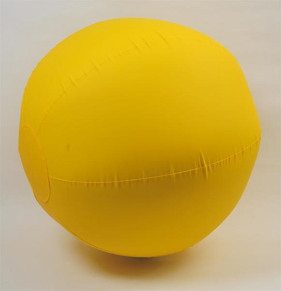 国産 カラー大玉ボール150cm 黄 運動会・体育祭・大玉転がし