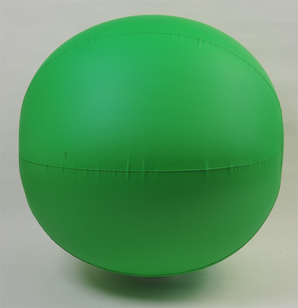 国産 カラー大玉ボール100cm 緑 運動会・体育祭・大玉転がし
