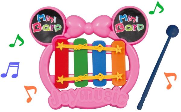 玩具 おもちゃ ミニてっきん 好評 鉄琴 楽器 輸入