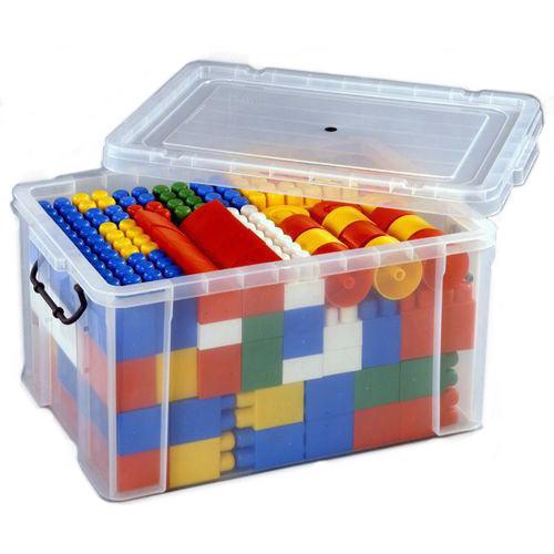 でこぼこブロック128(コンテナケース付き!)デコボコブロック、凸凹ブロック