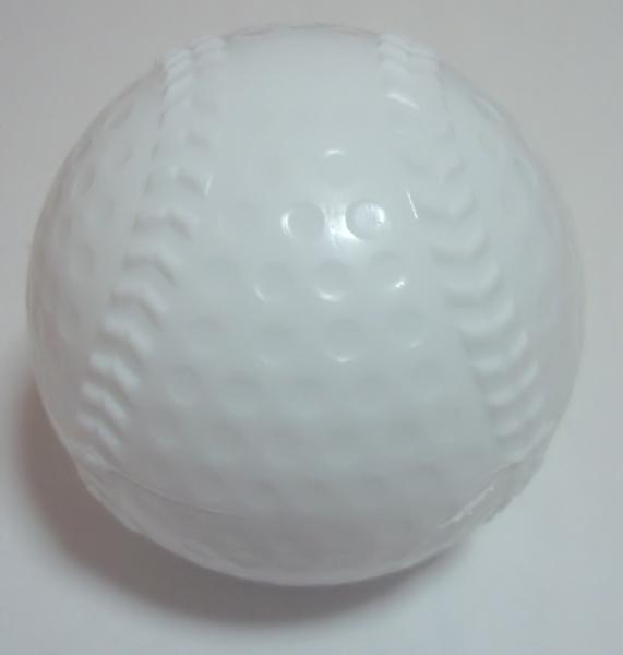 簡単なスポーツや子供のおもちゃなどに カラー野球ボール ストアー 白 バラ売り 卸売り