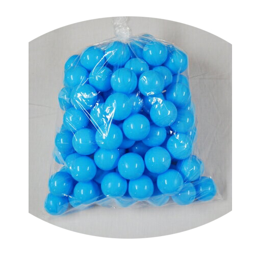 ボールプール用ポリボール500個入り 青色