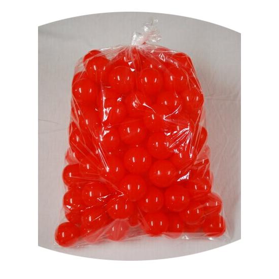 ボールプール用ポリボール500個入り 赤色