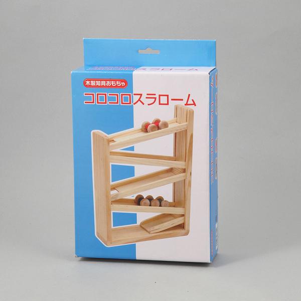 木製コロコロスラローム 送料0円 新登場