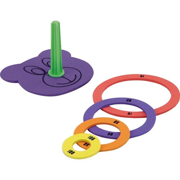 玩具 おもちゃ カラフル4色わなげ輪投げ 新色 新品 送料無料 なげわ