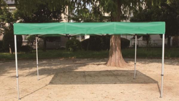 UVフラットメッシュ遮光テント F2436 ワンタッチ式 青、緑、ピンク