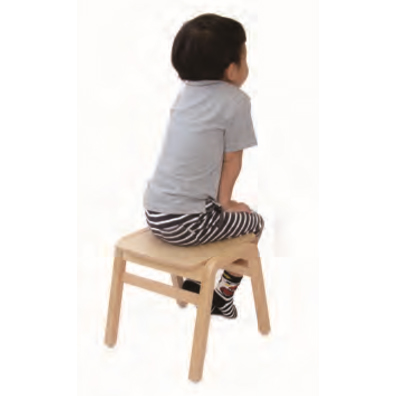 園児用背なし椅子 姿勢矯正 業務用 施設 保育園 幼稚園