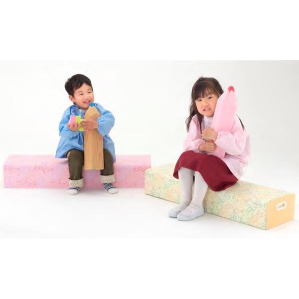 丸洗いOK!ソフトベンチ 1台 業務用 施設 保育園 幼稚園