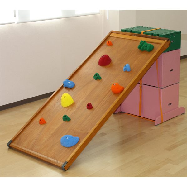 木製ボルダリングボードセット 家庭練習 室内用 運動遊具 ジム 園児用