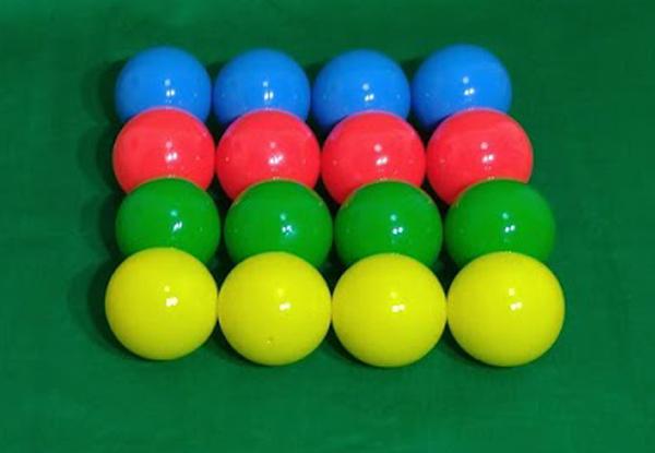 レクリエーション 人気ブランド多数対象 訳あり ノーパンクボール ソフティーボール90ではありません ソフトカラーボール100 16個セット