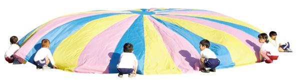 プレイバルーン(25~30人) 3色型 青・ピンク・黄