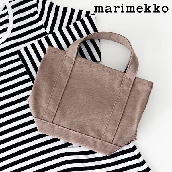 マリメッコ セイディミニ トートバッグ / カーキ ( ベージュ ) marimekko Seidi tote bag 【 日本限定 】【 正規販売店 】