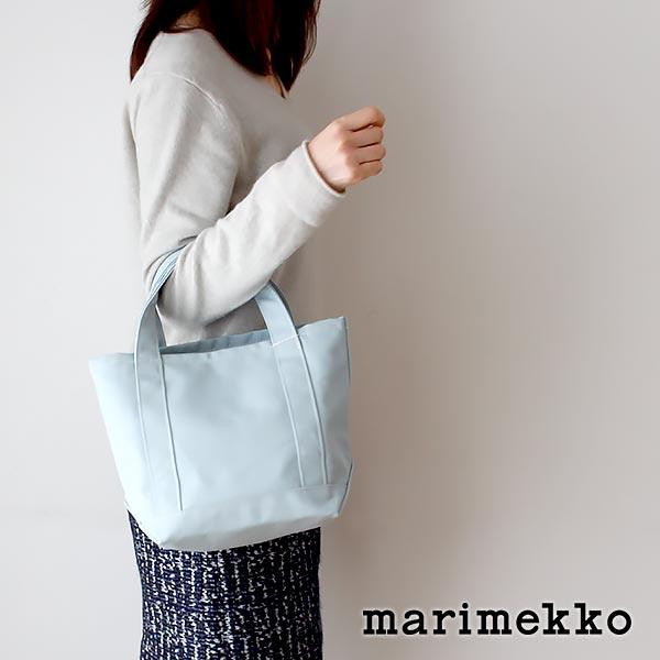 マリメッコ ( marimekko ) Seidi トートバッグ / ライトブルー 【あす楽】.