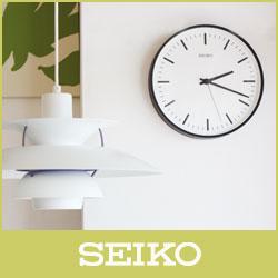 【 送料無料 】SEIKO ( セイコー ) 電波時計STANDARD ANALOG CLOCK( スタンダード アナログクロック )Lサイズ / ブラック ( KX308K ).