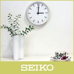 【 送料無料 】 SEIKO ( セイコー ) 電波時計STANDARD ANALOG CLOCK( スタンダード アナログクロック )Sサイズ / ホワイト ( KX310W ).
