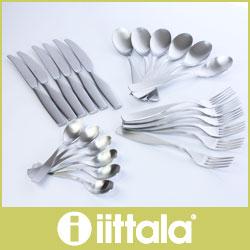 iittala ( イッタラ ) Citterio 98 ( チッテリオ 98 ) カトラリー / 24ピースセット .