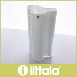 イッタラ ( iittala ) Aalto ( アアルト )フィンランディア フラワーベース 201mm / ホワイト .
