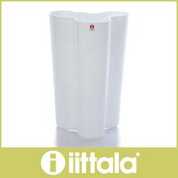 イッタラ ( iittala ) Aalto ( アアルト )フィンランディア フラワーベース 251mm / ホワイト .
