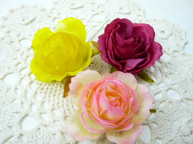 新作多数 造花 メール便対応 アウトレット造花 ソフトローズ中 フェイクフラワー 信頼 小花 アートフラワー 1本