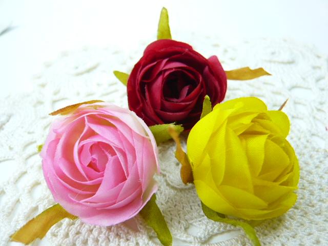 造花 メール便対応 ソフトローズ小 現品 1本 超激安 フェイクフラワー 小花 アートフラワー
