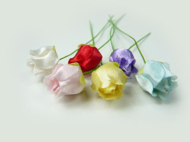造花 付与 メール便対応 アウトレット造花 ラッピング 髪飾りの作り方を動画で紹介 買物 フラワー バラ401