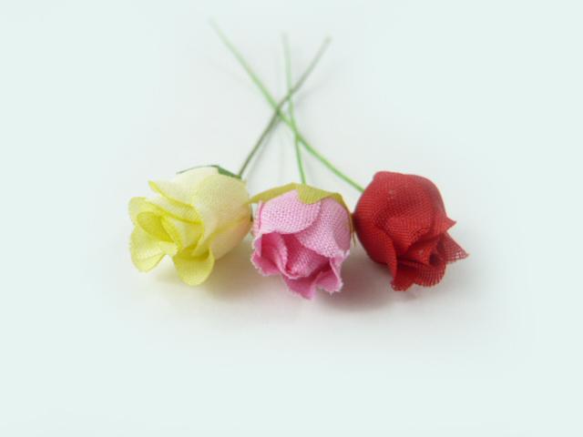 造花 メール便対応 お買い得 アウトレット造花 素朴なコットンの豆バラ402 激安価格と即納で通信販売 1本 ヘアーアクセ 髪飾りを作る小さなフラワー 使い方を動画で紹介 ギフト ラッピング